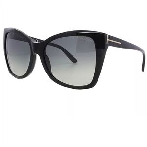 18d20fe18368 Tom Ford TF 295 01b Carli Sunglasses
